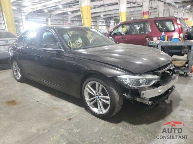 BMW 3 SERIES 2018 - WBA8E1G52JNU89644