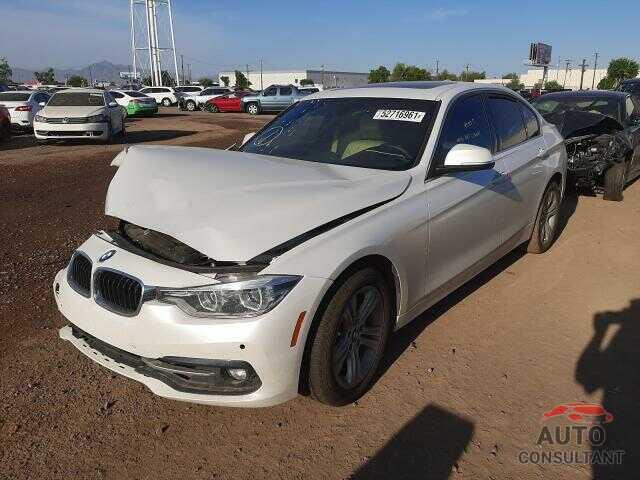BMW 3 SERIES 2018 - WBA8B9G59JNU96260