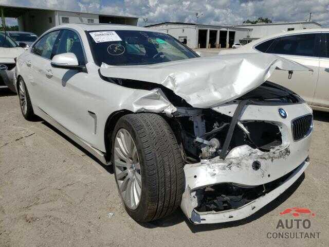 BMW 4 SERIES 2018 - WBA4J1C58JBM09913