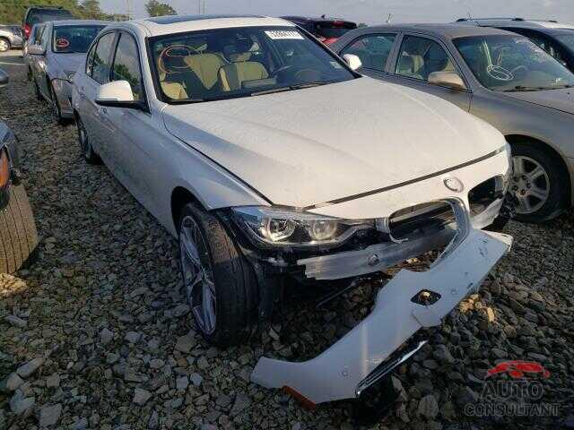BMW 3 SERIES 2018 - WBA8B3C51JK843231