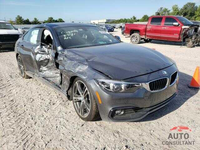 BMW 4 SERIES 2018 - WBA4J1C50JBM10439