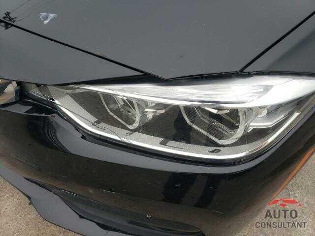 BMW 3 SERIES 2018 - WBA8E5G58JNV02386
