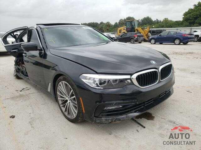 BMW 5 SERIES 2018 - WBAJA5C5XJG898151
