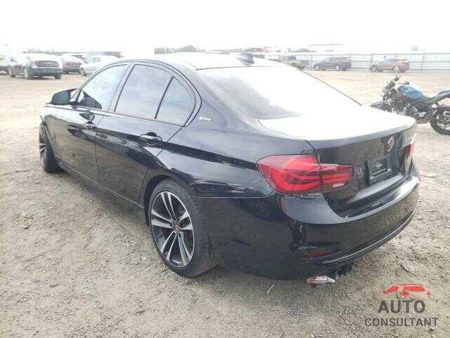 BMW 3 SERIES 2018 - WBA8E1C56JA758709