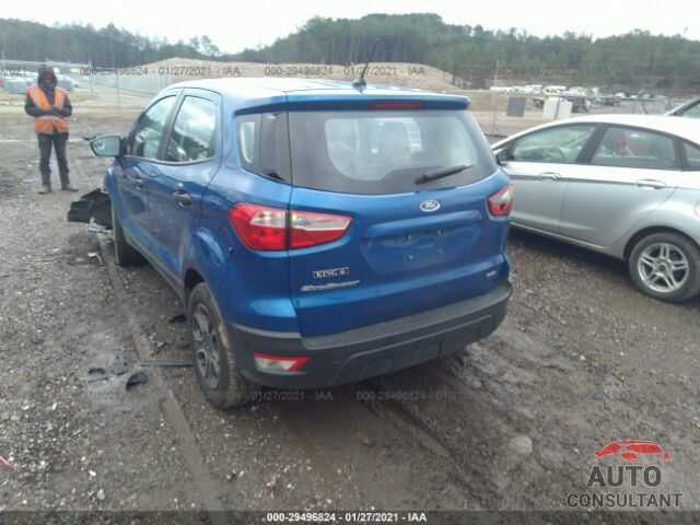 FORD ECOSPORT 2018 - MAJ3P1RE6JC229706