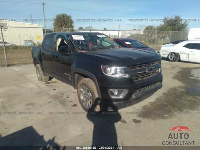 CHEVROLET COLORADO 2018 - 1GCGTDEN5J1245731