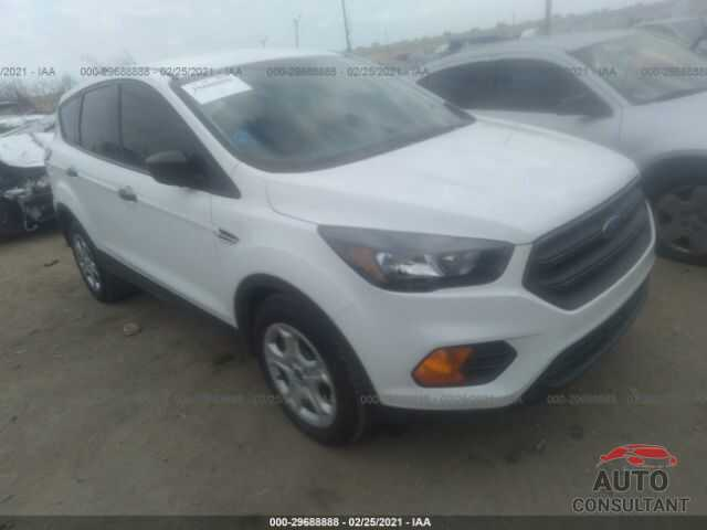 FORD ESCAPE 2018 - 1FMCU0F73JUD41257