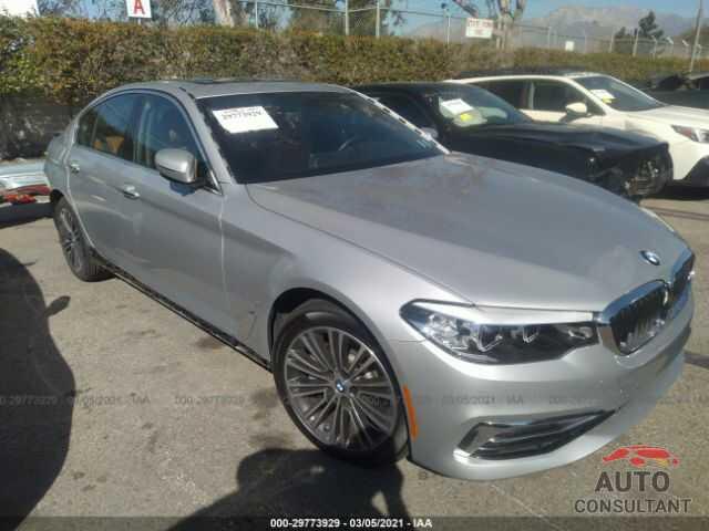 BMW 5 SERIES 2018 - WBAJA9C52JB250811