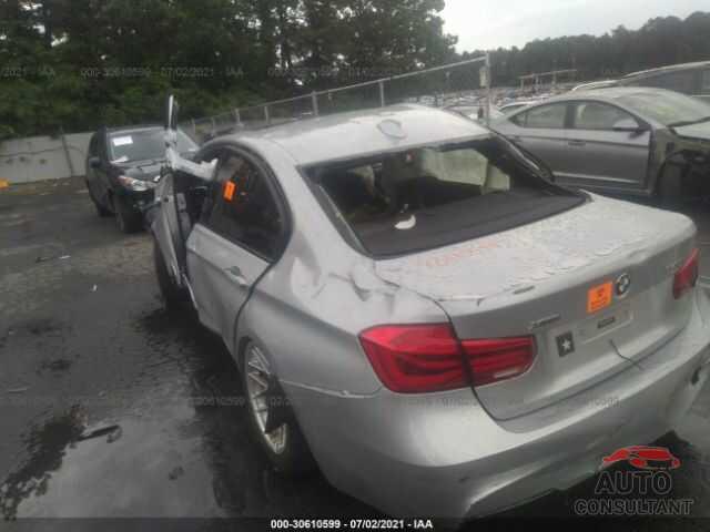 BMW 3 SERIES 2018 - WBA8B7C54JA586059
