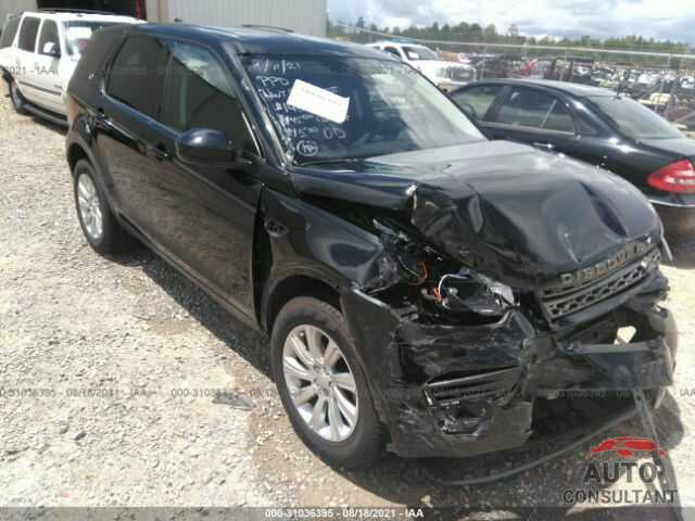 LAND ROVER DISCOVERY SPORT 2018 - SALCP2RX1JH749096