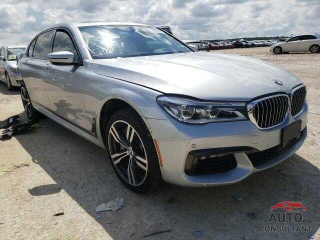 BMW 7 SERIES 2019 - WBA7F0C55KGM25595