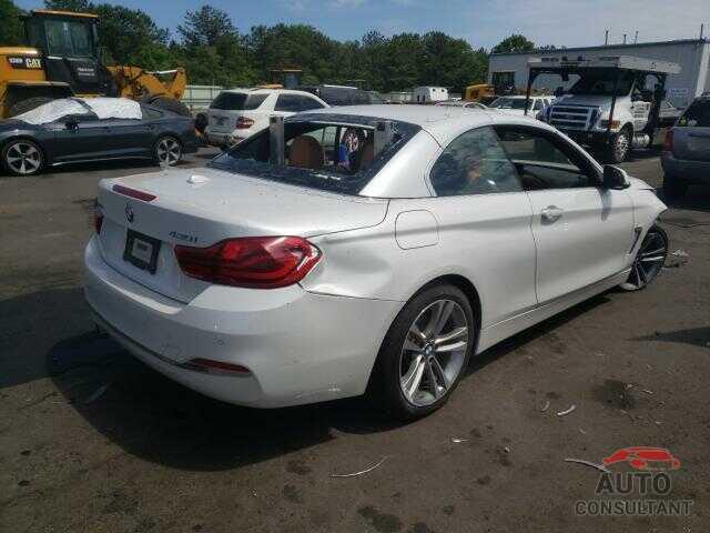 BMW 4 SERIES 2019 - WBA4Z3C53KEF31893