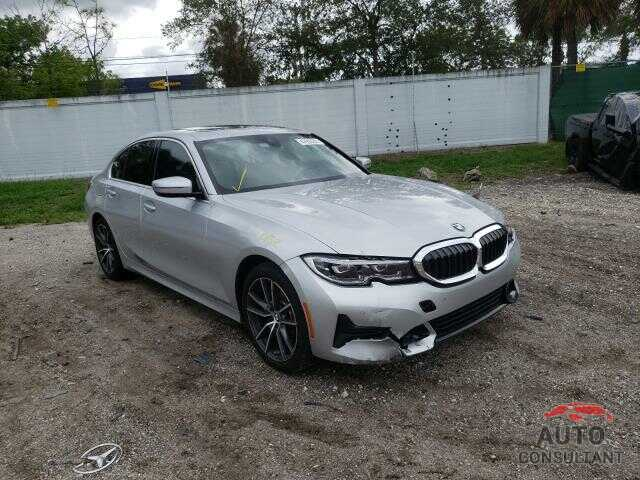 BMW 3 SERIES 2019 - WBA5R1C50KAK10357