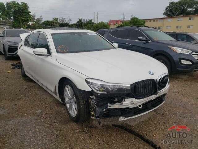 BMW 7 SERIES 2019 - WBA7E4C53KGV28525