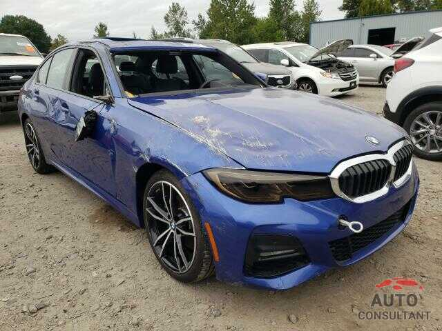 BMW 3 SERIES 2019 - WBA5R7C50KAJ78335