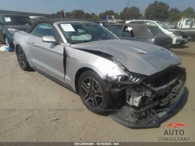 FORD MUSTANG 2019 - 1FATP8UH5K5150401