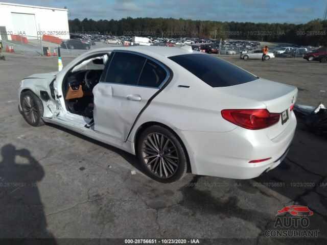 BMW 5 SERIES 2019 - WBAJA9C5XKB392423