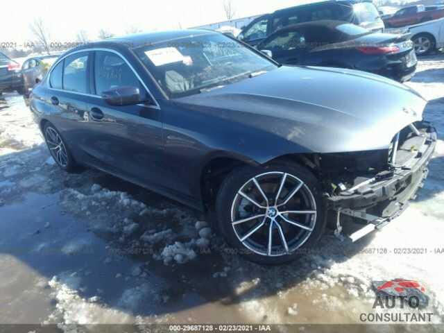 BMW 3 SERIES 2019 - WBA5R7C57KAJ80275