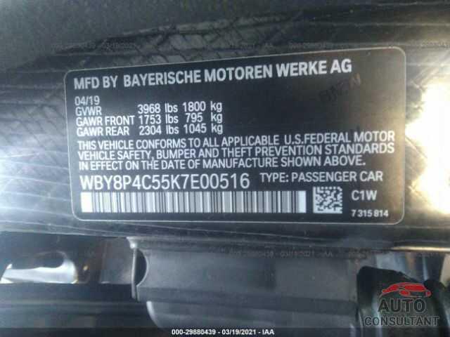 BMW I3 2019 - WBY8P4C55K7E00516