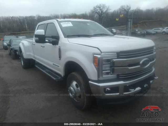 FORD SUPER DUTY F-350 DRW 2019 - 1FT8W3DT3KEF47082