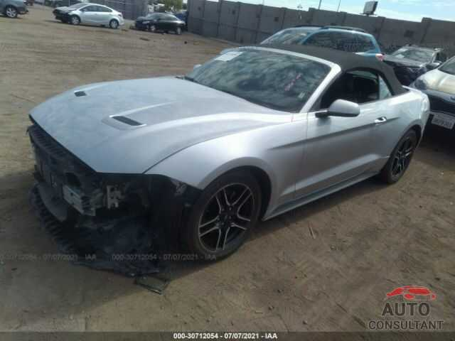 FORD MUSTANG 2019 - 1FATP8UH1K5151917