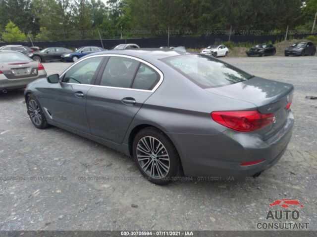 BMW 5 SERIES 2019 - WBAJA7C53KWW41920