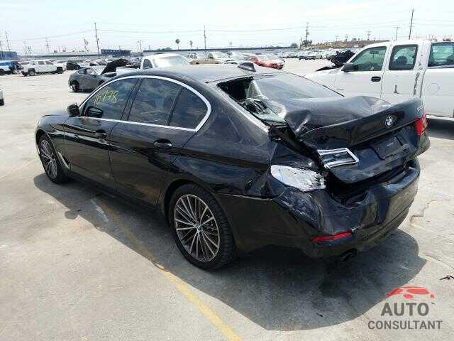 BMW 5 SERIES 2020 - WBAJR3C00LCD58614