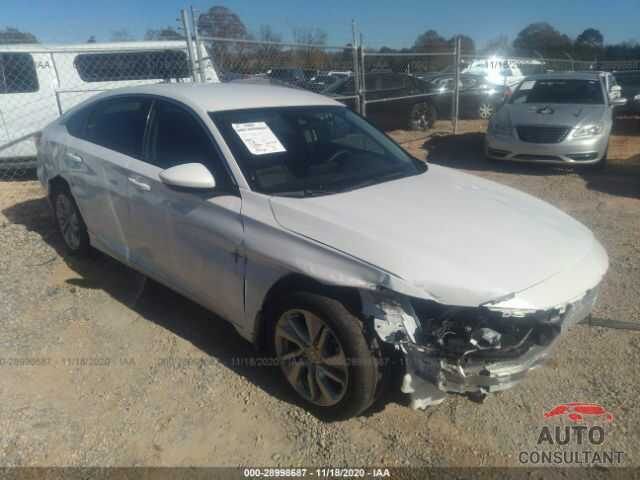 HONDA ACCORD SEDAN 2020 - 1HGCV1F13LA032896