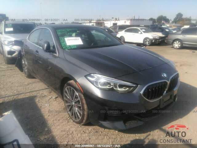 BMW 2 SERIES 2020 - WBA73AK04L7G03280