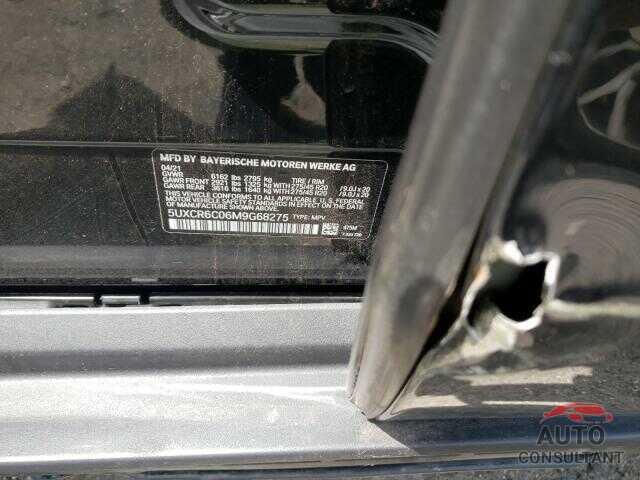 BMW X5 2021 - 5UXCR6C06M9G68275