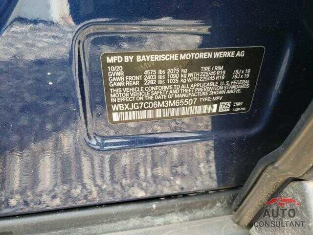 BMW X1 2021 - WBXJG7C06M3M65507