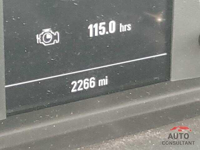 CHEVROLET SILVERADO 2021 - 3GCNWAEF5MG301369