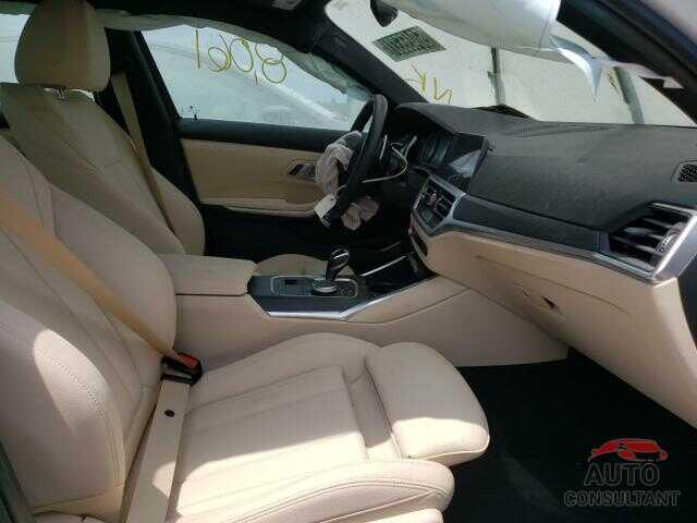BMW 3 SERIES 2021 - 3MW5R1J07M8B82482