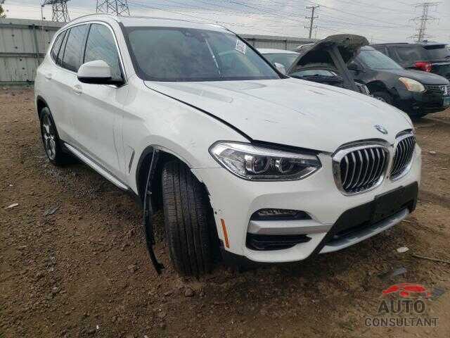 BMW X3 2021 - 5UXTY5C04M9D90599