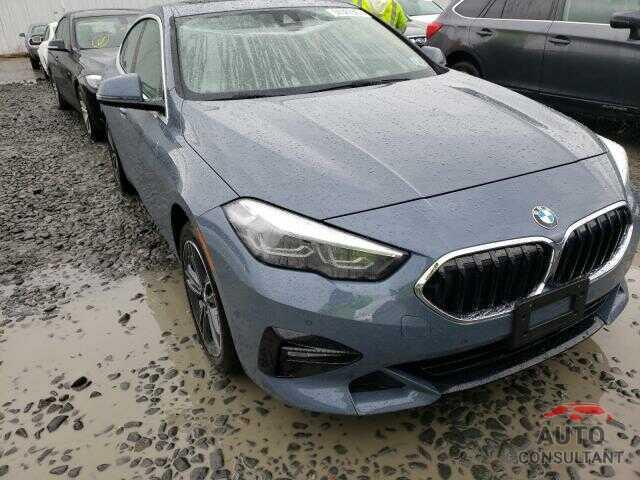 BMW 2 SERIES 2021 - WBA73AK03M7J51580