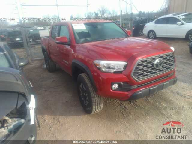TOYOTA TACOMA 4WD 2021 - 3TMCZ5AN2MM372923