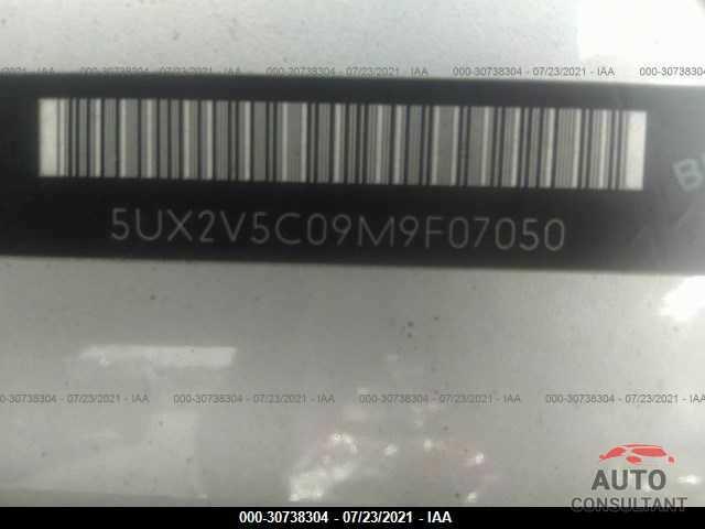 BMW X4 2021 - 5UX2V5C09M9F07050