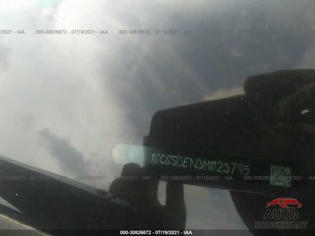 CHEVROLET COLORADO 2021 - 1GCGSDEN3M1123795