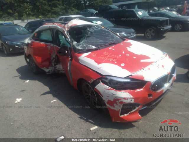 BMW 2 SERIES 2021 - WBA73AK04M7H65282